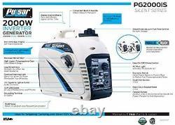 Pulsar G2319n 2300-w Super Silencieux Générateur D'onduleur À Gaz Portatif Maison Rv