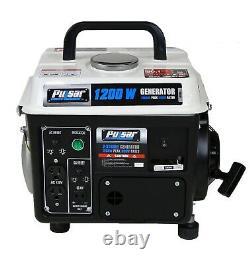 Pulsar Pg1202sa 1200 Peak Watt 900 Running Watt Portable 2-cycle Gas Powered