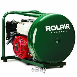 Rolair 118cc 4.5-gallon Entrepreneur Pancake Gas Powered Compresseur D'air Avec Hond