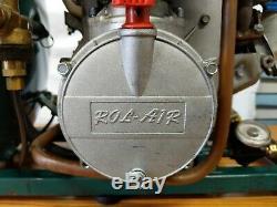 Rolair Gd4000pv5h Honda Gx120 4.0 Gas-powered Carry Main Compresseur D'air