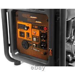 Rv-ready 4000-watt Générateur D'onduleur À Cadre Ouvert Alimenté Par Gaz, Compatible Avec Les Carbures