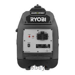 Ryobi 2000-w Super Silencieux Générateur D'inverseur De Gaz Portable Maison Camping Rv
