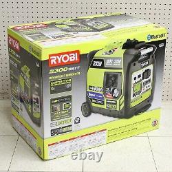 Ryobi Ryi2322vnm 2300w Générateur D'onduleur Alimenté Au Gaz Bluetooth
