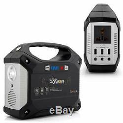 Serenelife Générateur 155wh Power Station Portable, Onduleur Sans Gaz Silencieux