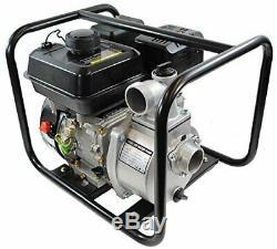 Shop4omni 4 Stroke 132 2 Pouces 7 Gpm HP Gas Powered Pompe À Eau Portable