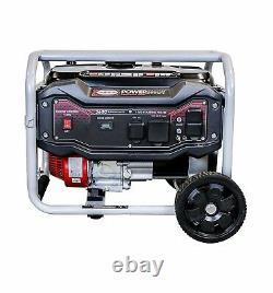 Simpson 4500 Watts Gaz Portable Alimenté Générateur Avec Roue Kit Accueil Rv Camping
