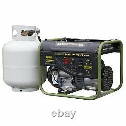 Sportif 2000 W 3.5 Portable HP Hybrid Dual Fuel Gas Powered Générateur Accueil Rv