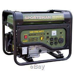 Sportif 4000 W 7hp Portable Rv Ready Gas Powered Générateur De Secours Accueil Camping