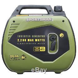 Sportsman 2200 Watts Double Carburant Powered Inverter Generator