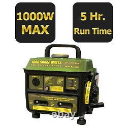 Sportsman Series 1000-watt Silencieux Générateur De Gaz Portable À La Maison Camping Rv