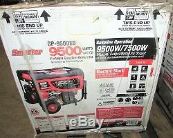 St-outils Plus Intelligents Gp9500eb, 7500/9500 Watts Et À Gaz Générateur Portable