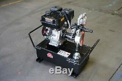 Tooltuff Gaz Portable Power Pack De Pompe Hydraulique Système 10 Gal 7 Gpm 1350 Livres Par Pouce Carré