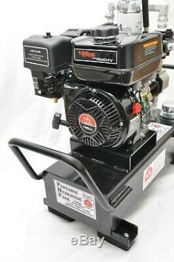 Tooltuff Gaz Portable Système De Pompe D'alimentation Hydraulique 7 Gpm 920psi 5 Gal Démontées