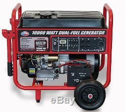 Tous Puissance 10000-w Portable Hybride Double Générateur De Gaz Combustible Avec Démarrage Électrique