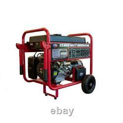 Tous Puissance 12000-w Gaz Portable Powered Générateur Avec Démarrage Électrique Accueil Rv