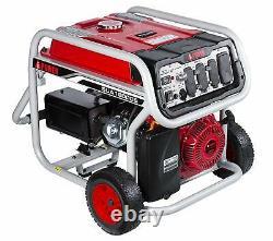 Un Générateur Ipower 12000 Watt Alimenté Au Gaz Portable Avec Démarrage Électrique Et Kit De Roue