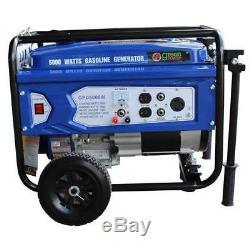 Vert-power Amérique 5000w Portable Gas Powered Générateur Gpd5000w
