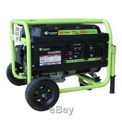 Vert-power Amérique 5250 Watt Portable Double Gaz / Propane Générateur De Carburant Gn5250dw
