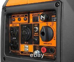Wen 2,350-w Super Silencieux Générateur D'inverseur De Gaz Portable Maison Camping Rv