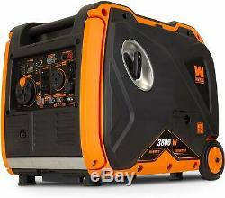 Wen 3.800 Watts Gaz Portable Silencieux Powered Inverter Generator Avec Démarrage Électrique