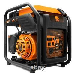 Wen 4000-w Gn400i Super Quiet Portable Rv Prêt À Gaz Générateur D'onduleur