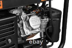 Wen 4750-w Gaz Hybride Double Carburant Portable Alimenté Générateur Avec Démarrage Électrique