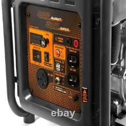 Wen 4,000-w Super Quiet Portable Rv Ready Gas Powered Onduleur Generator Home Rv