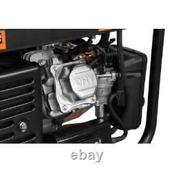 Wen 4,750-w Générateur De Gaz À Double Combustible Portable Silencieux Avec Démarrage Électrique