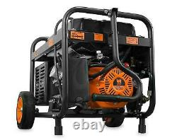 Wen 4,750-w Générateur Hybride Portable Bicarburant Gaz Alimenté Avec Démarrage Électrique