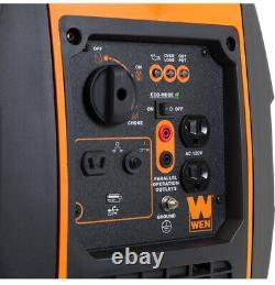 Wen Générateur D'onduleur À Essence 2000-watt Super Silencieux Deux Prises 120v 5v Usb