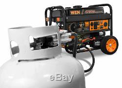 Wen Générateur De Gaz Propane Portable Double Carburant Démarreur Électrique Portable Power