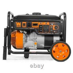 Wen Générateur Portable 6000-watt Rv-ready Kit Roue À Essence