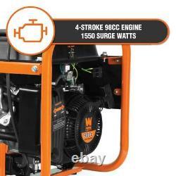 Wen Générateur Portable 98 CC 1550-watt 4-stroke Gaz-powered Fuel Gauge