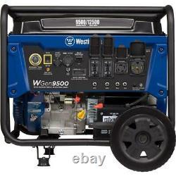 Westinghouse 12500-w Gaz Portable Alimenté Générateur Avec Démarrage Électrique À Distance