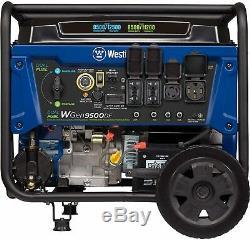Westinghouse 12500-w Portable Dual Fuel Gas Powered Générateur Avec Démarrage À Distance
