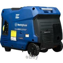 Westinghouse 4500 / 3.700 Watts Super Gaz Silencieux Powered Inverter Generator