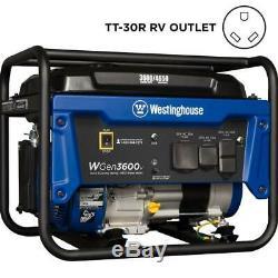 Westinghouse 4650-w Quiet Rv Portable Ready Gas Powered Générateur Accueil Camping