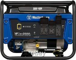 Westinghouse 4650w Silencieux Gaz Portable Alimenté Au Gaz Rv Ready Generator Home Rv Camping