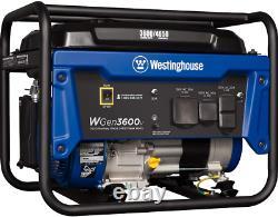 Westinghouse 4650w Silencieux Gaz Portable Alimenté Rv Prêt Générateur Maison Rv Camping