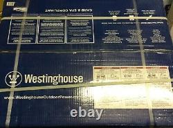 Westinghouse 6 600-w 240v Générateur De Gaz Portatif Prêt Rv Avec Kit De Roues