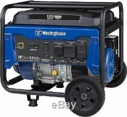 Westinghouse 6.600-w 240v Portable Rv Ready Gas Powered Générateur Avec Roue Kit