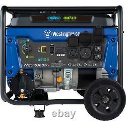 Westinghouse 6 600-watt Portable Hybrid Rv Ready Dual Carburant Gas Powered Generator