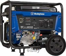 Westinghouse 7500-w Gaz Portable Powered Démarrage Du Générateur Électrique Avec Roue Kit