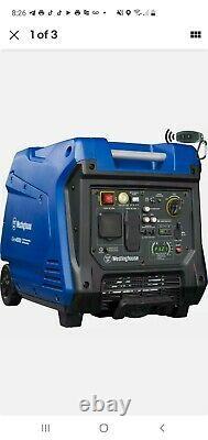 Westinghouse Igen4500 Générateur Portable Silencieux D'onduleur À Distance Alimenté Au Gaz
