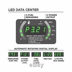 Westinghouse Inverter Générateur De Gaz Portable Powered Recoil Démarrer Ultrasilencieux