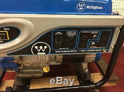 Westinghouse Wh6000 Gaz Générateur Portable Alimentation De Secours Quiet Home Veille