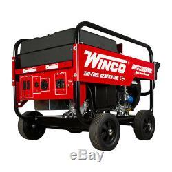 Winco Hps12000he Accueil Série Power Générateur Portable 12000 Watt Honda Gas 120v