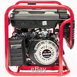 Xtremepowerus Gaz Générateur 4000 Watt Moteur D'urgence Lifan Power Camp Tailgate
