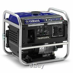 Yamaha Ef2800i 2800 Watt Gas Powered Inverter Accueil Rv Portable Générateur D'énergie