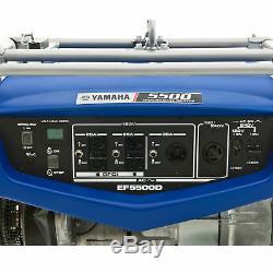 Yamaha Ef5500d 4500 Watt Gaz Powered Rv Professional Générateur De Secours Portable